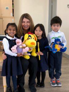 Peggy at Grey Matter Montessori School